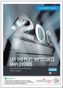 Les 200 plus importants employeurs